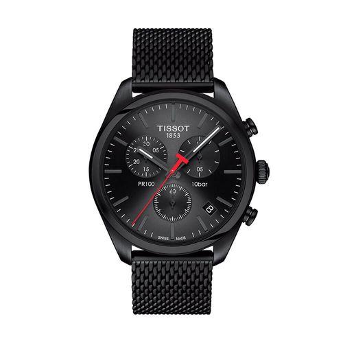 Reloj Tissot Pr 100 Chronograph para hombre de acero 1014173305100