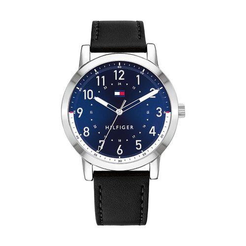 Reloj Tommy Hilfiger para Hombre de Cuero Negro 1791750