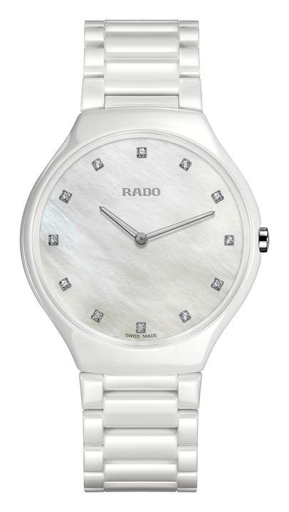 Reloj Rado R27957912 L True Thinline blanco