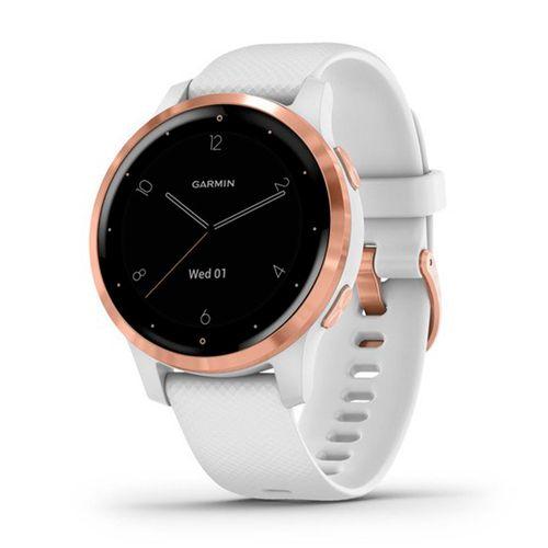 Reloj Garmin Vivoactive 4S Blanco / Rose