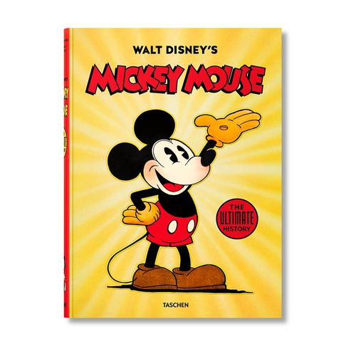 Libro TASCHEN Walt Disney s Mickey Mouse: The Ultimate History