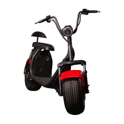 Scooter Eléctrico Spyracing Negro y Rojo SUSPYRA20NJ