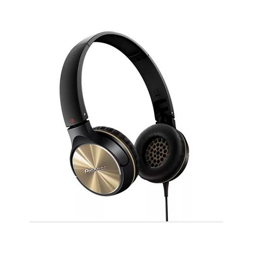 Auriculares Pioneer SEMJ532 K Headphone Gold