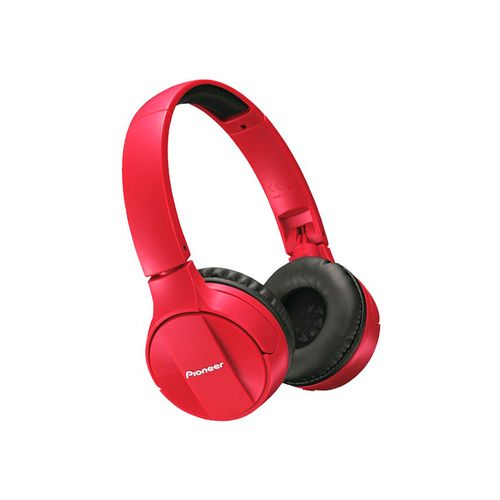 Auriculares Pioneer Bluetooth Headphones Red