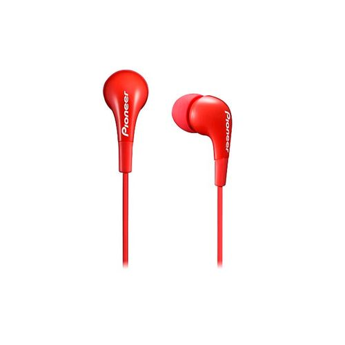 Auriculares Pioneer Earphone Red
