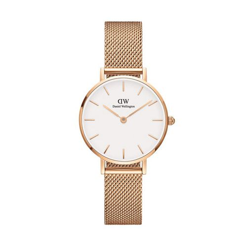 Reloj Daniel Wellington Petite  Melrose de acero rosé