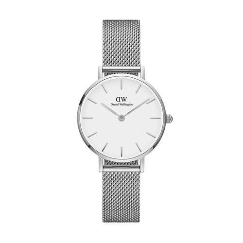 Reloj Daniel Wellington Petite Sterling de acero plateado
