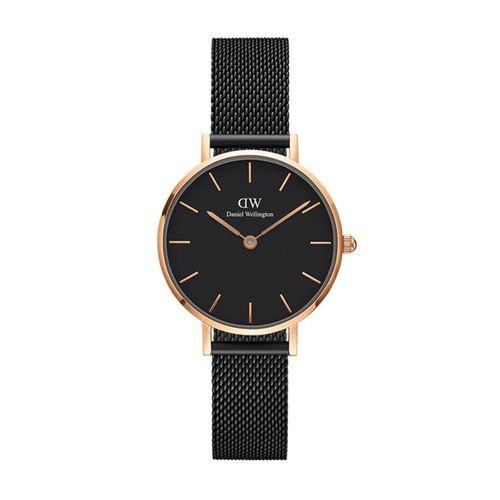 Reloj Daniel Wellington Petite Ashfield de acero negro