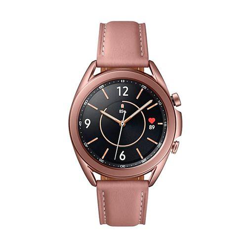 Smartwatch Samsung Galaxy Watch3  de Mujer de cuero bronce SMR850NZDAARO