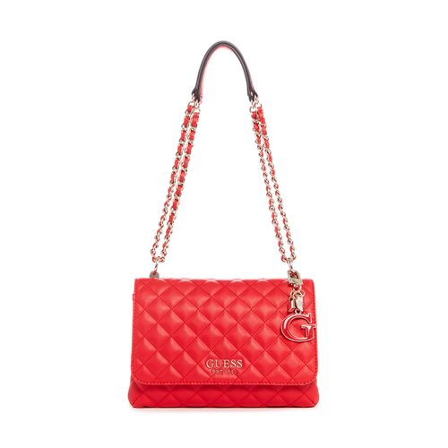 CARTERA GUESS CONVERTIBLE XBODY FLAP RED