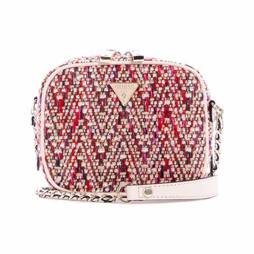 Cartera Guess Camera Bag Pink Multi