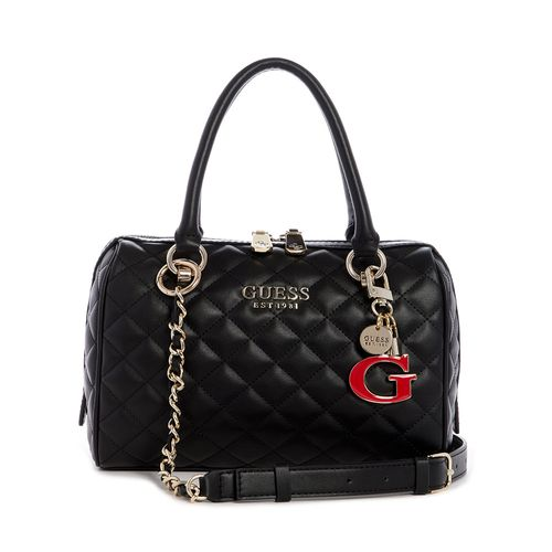 CARTERA GUESS BOX SATCHEL BLACK