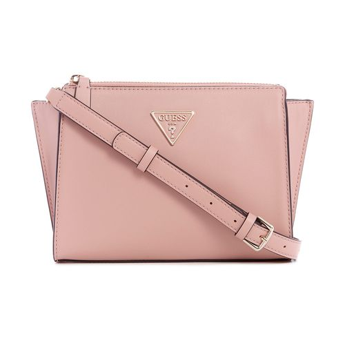 CARTERA GUESS CROSSBODY TOP ZIP ROSEWOOD