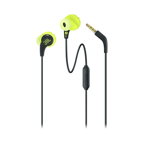 Auriculares JBL Endurance Run Wired In ear Black Yellow