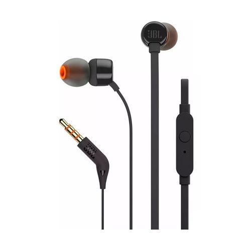 Auriculares JBL T110 Wired In ear Black