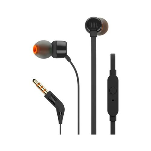 Auriculares JBL T210 Wired In ear Black