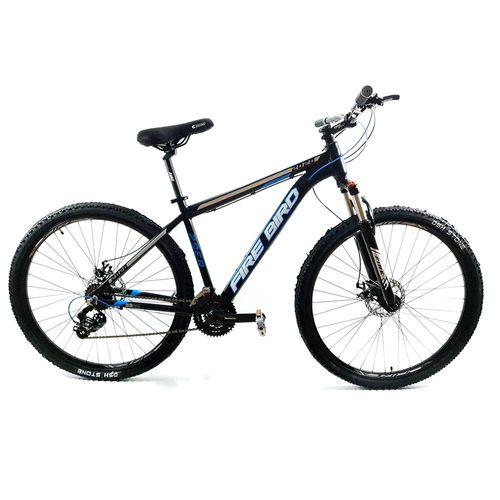 Bicicleta Firebird MTB Aluminio Rodado 29 Negro y Azul