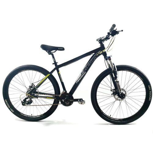 Bicicleta Firebird MTB Aluminio Rodado 29 Negro Blanco Amarillo Fluo