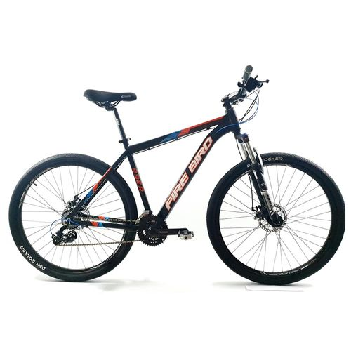 Bicicleta Firebird MTB aluminio rodado 29 negro naranja azul