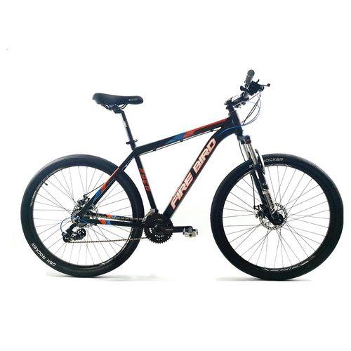 Bicicleta Firebird MTB Aluminio Rodado 29 Negro, Azul y Rojo