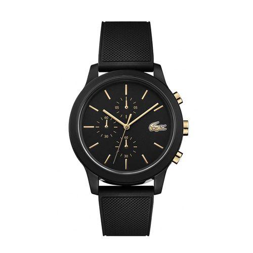 Reloj Lacoste 12.12 de Silicona negro 2011012