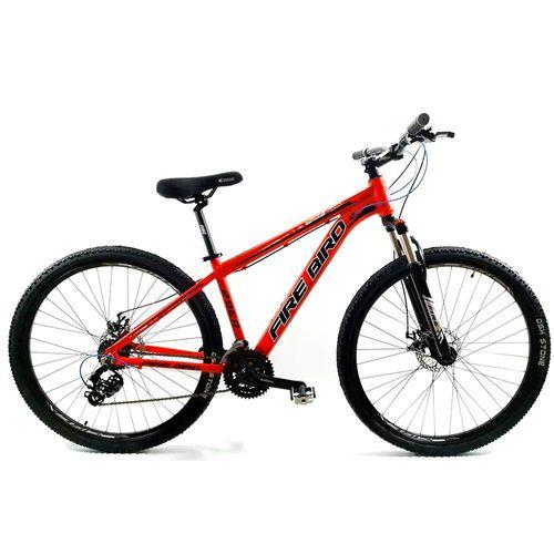 Bicicleta Firebird MTB aluminio rodado 29 rojo y negro