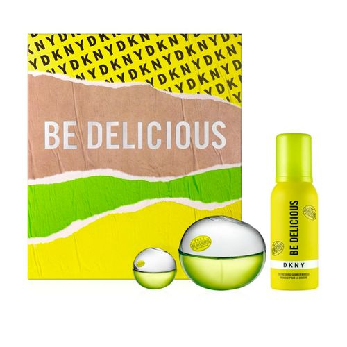 Apple a Day Dkny Holiday Set  Be Delicious 10ml EDP + 7ml EDP + Shower mousse
