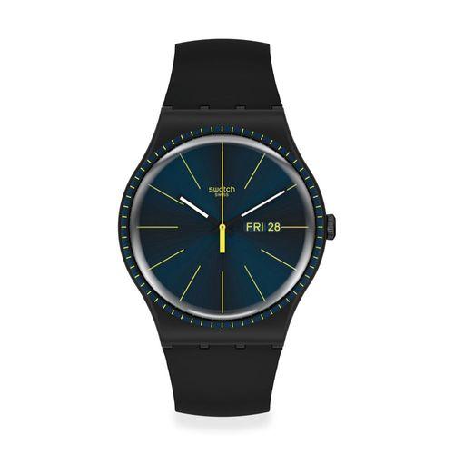 Reloj Swatch Black Rails