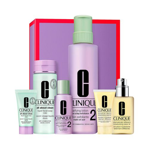 Set Clinique Great Skin Anywhere Dramatically Different Moisturizing Lotion+