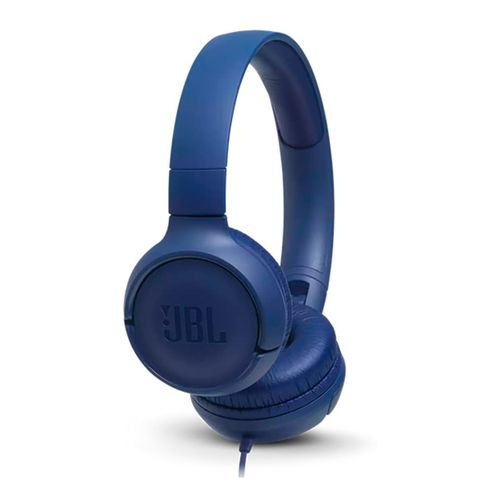 Auriculares JBL Tune T500 On-ear Blue con cable
