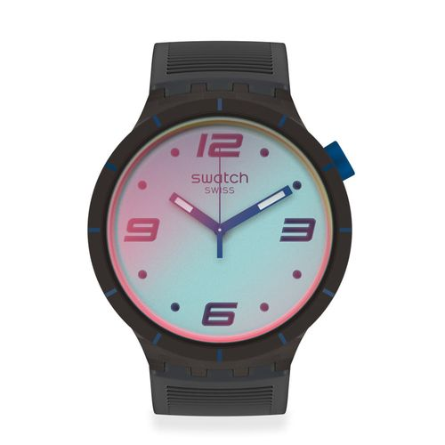Reloj Swacth Futuristic Grey