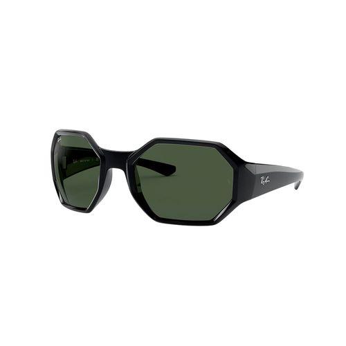 Lentes Ray-Ban RB4337, Negro brillante y verde