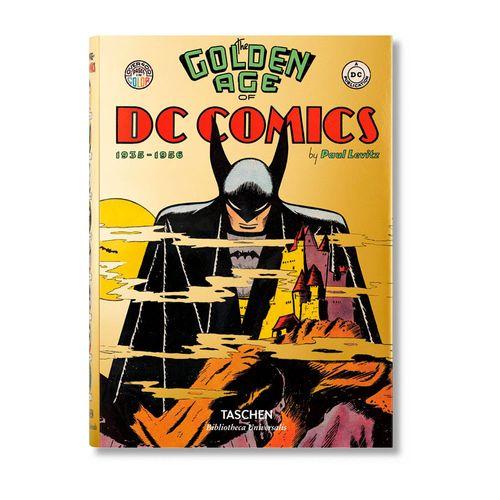 Libro Taschen: The Golden Age of DC Comics.
