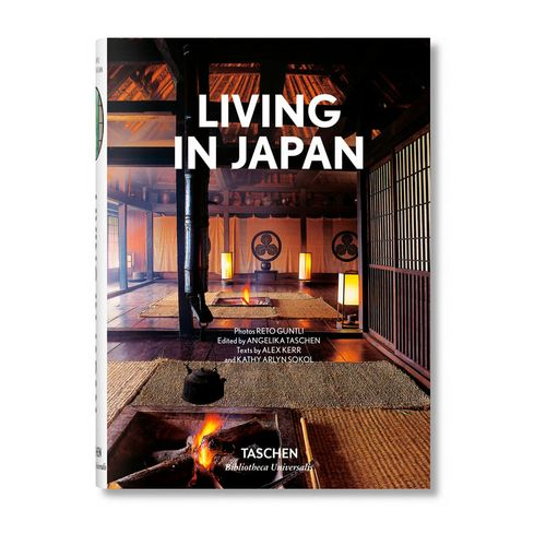 Libro Taschen: Living in Japan