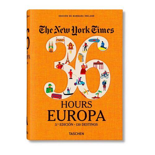 Libro Taschen: The New York Times. 36 Hours Europa. 3ra edición