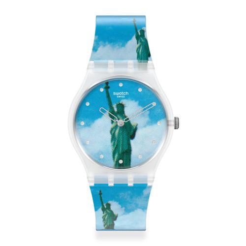 Reloj Swatch New York By Tadanori Yokoo The Watch