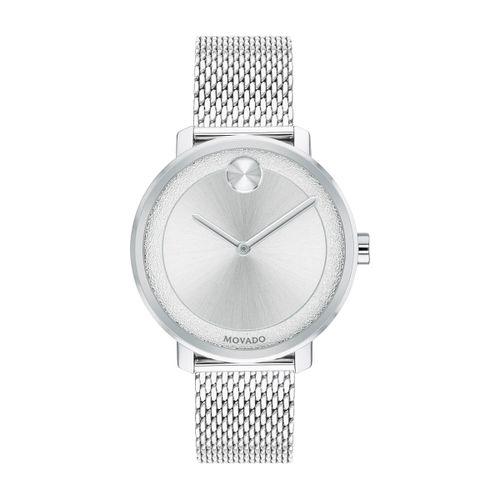 Reloj Movado Bold Shimmer Plateado