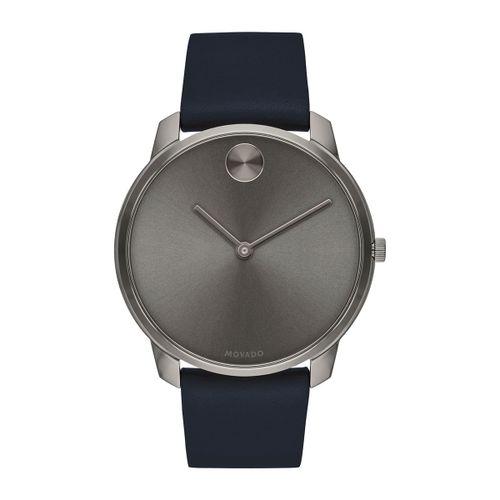 Reloj Movado Bold Thin Azul y gris
