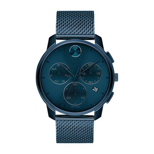 Reloj Movado Bold Thin Azul