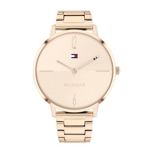 Reloj Tommy Hilfiger Liza para mujer de acero rosé 1782337