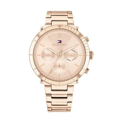 Reloj Tommy Hilfiger Emery para mujer de acero rosé 1782347