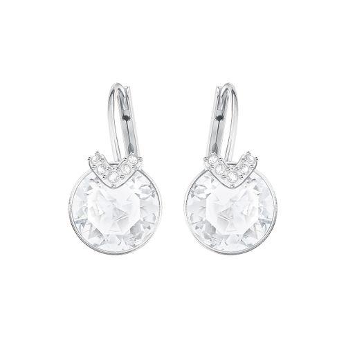 Aros Swarovski Bella V Baño de Rodio y Cristales SV5292855