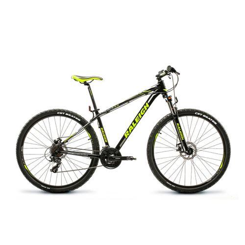 """Bicicleta Raleigh Rodado 29. 17"""" Negro con amarillo"""