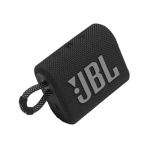 Parlante JBL Go 3 Black JBLGO3BLK