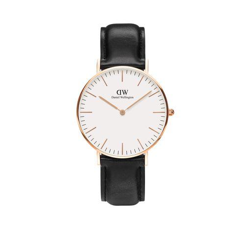 Reloj Daniel Wellington Classic Sheffield de cuero negro