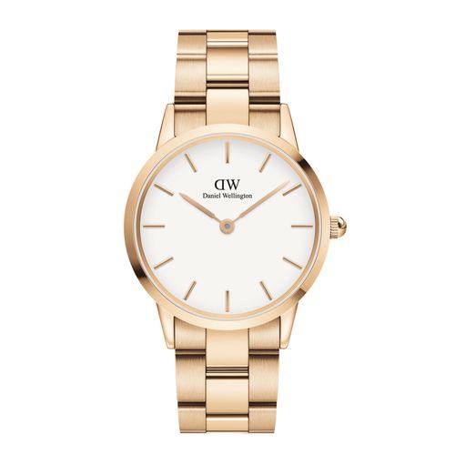 Reloj Daniel Wellington Iconic Link de acero rosé