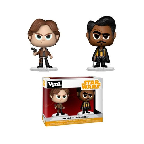Funko Vynl. Han Solo + Lando Calrissian (2 Pack) - Star Wars