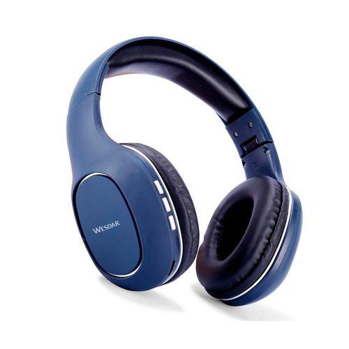 Auriculares Wesdar Bluetooth Azul