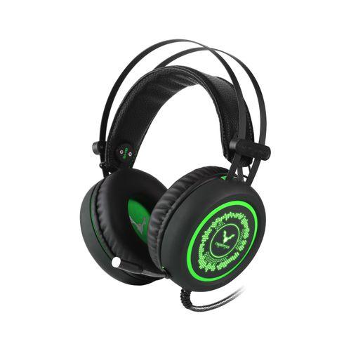 Auriculares Wesdar Gaming USB Verde