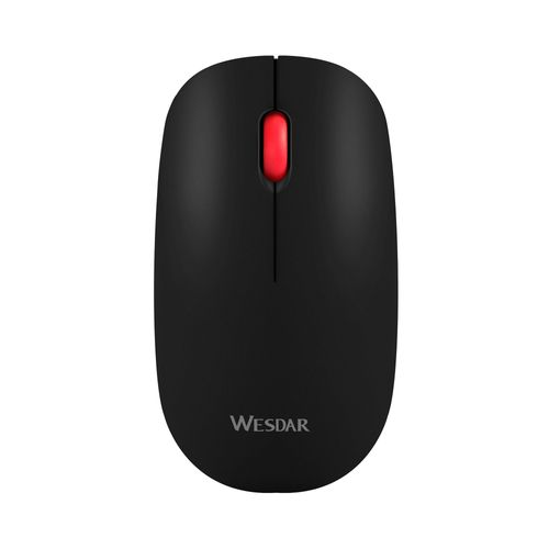 Mouse Wesdar inalámbrico Negro